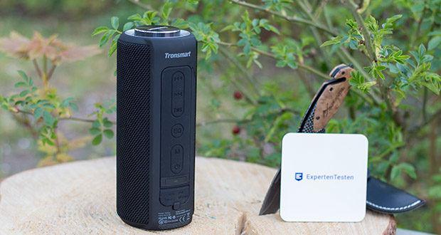 Tronsmart T6 Plus Bluetooth Lautsprecher im Test - mit der IPX6 für Wasserdichtigkeit