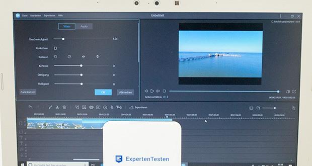 EaseUS Video Editor Pro im Test - ermöglicht Ihnen die bearbeiteten Videos in ein beliebiges Format zu exportieren, um sie auf iPhone XS Max, iPhone 8 Plus, iPhone 8, iPhone XS, iPhone XR, iPad, Samsung Galaxy, HTC oder anderen Geräten abzuspielen