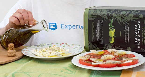 Happy Belly Select Natives Olivenöl extra im Test - ideal zum Pochieren von Fisch oder als Dressing über einem erfrischenden, sommerlichen Salat