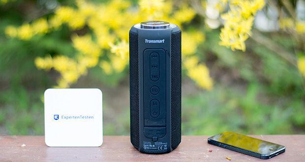 Tronsmart T6 Plus Bluetooth Lautsprecher im Test - funktioniert hervorragend mit Amazon Echo Dot