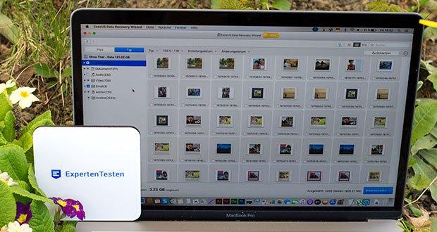 EaseUS Data Recovery Wizard Pro im Test - beschädigte oder korrupte JPEG/JPG-Fotos auf der Festplatte, der SD-Karte, der Speicherkarte oder einem anderen Speichermedium reparieren