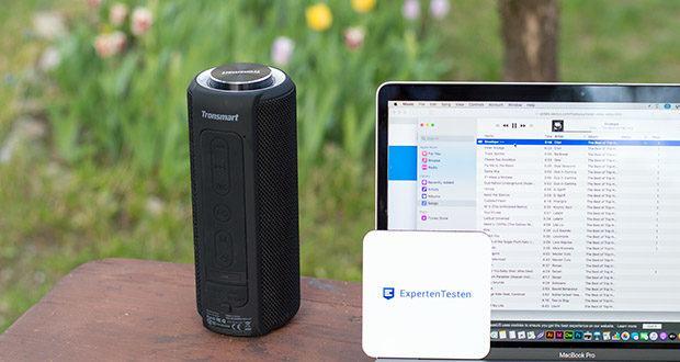 Tronsmart T6 Plus Bluetooth Lautsprecher im Test - lange Akkulaufzeit und Telefonaufladefunktion