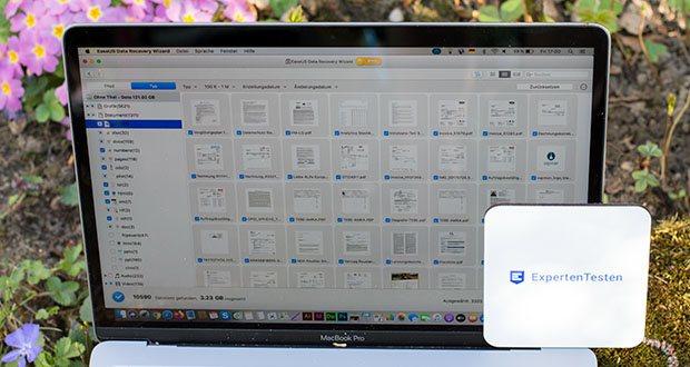 EaseUS Data Recovery Wizard Pro im Test - kann verlorene Dateien, Bilder, Dokumente, Videos und mehr nach Verlust, Löschen, Formatieren, Partitionsverlust oder Virusattacken wiederherstellen