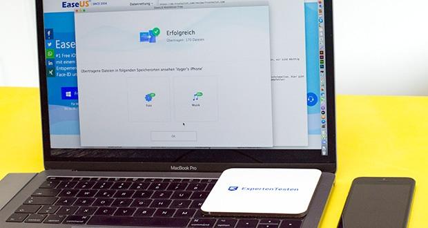 EaseUS MobiMover Pro im Test - ausgezeichneter iPhone /iPad Datentransfer