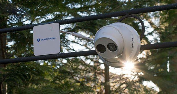 ANNKE 4K HD IP Überwachungskamera im Test - hervorragende Nachtsicht mit EXIR Array LEDs