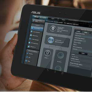 Steuerung per App des ASUSVDSL-Modems
