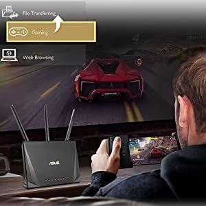 Computerspielen mit VDSL-Router