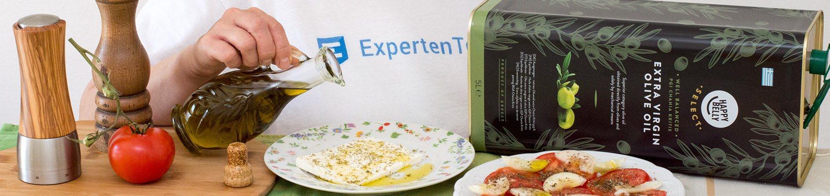 Olivenöle im Test auf ExpertenTesten.de
