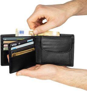 Schritte wenn das Portemonnaie verloren geht