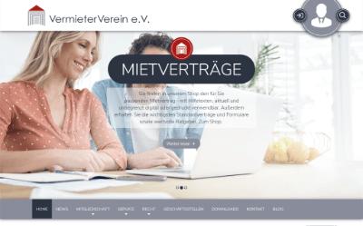 VermieterVerein e.V. - Beratung für Vermieter, Eigentümer, Hausverwalter, juristische Personen, Kommunen und Wohnungseigentümergemeinschaften