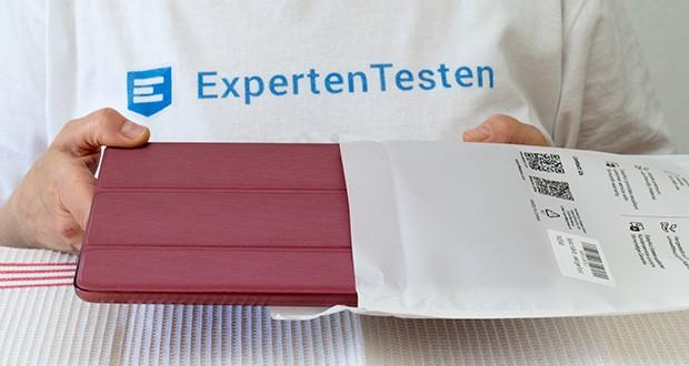 EasyAcc Hülle für iPad 5/6 im Test - trägt nur 5 mm auf, Gewicht: 222 g