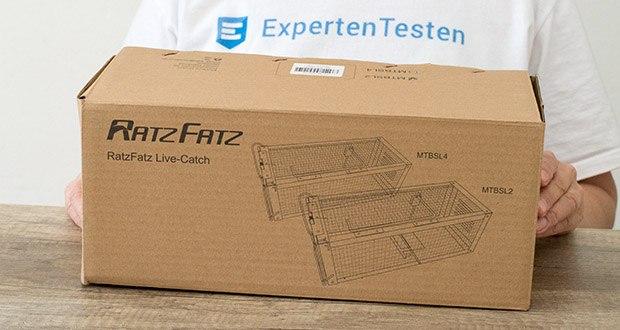 Ratzfatz Quickcatch MTBSL20 Mausefalle im Test - die effizienteste Multicatch Abwehr für verschiedenste Tiere wie Hasen, Wühlmäuse, Hamster, Meerschweinchen, Kaninchen Mäuse, Ratten etc.