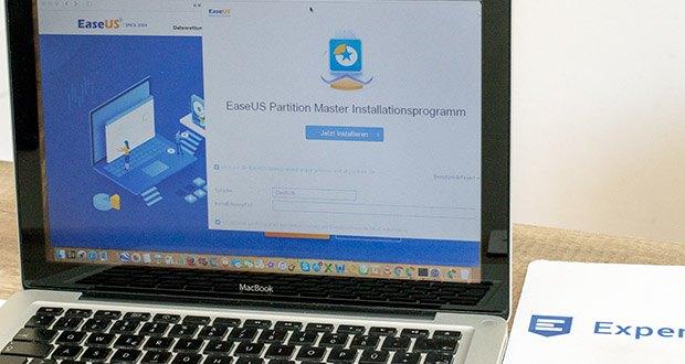 EaseUS Partition MasterPro im Test - führen Sie Partitionen zu einer größeren zusammen, ohne Daten zu verlieren