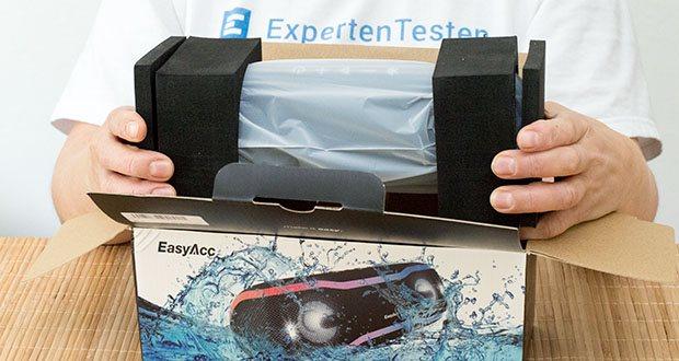 EasyAcc F10 Bluetooth Lautsprecher im Test - klar und kräftig bis zu 90DB
