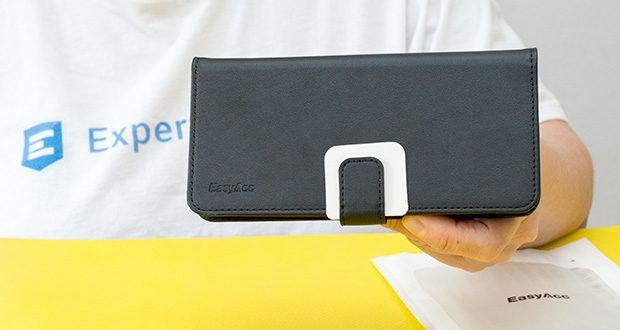 EasyAcc Hülle für Samsung Galaxy S20 Plus im Test - verbessertes PU-Leder präsentiert ein High-Ending-Gefühl, und wird nicht leicht verschleißen im Laufe der Zeit
