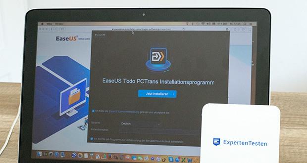 EaseUS Todo PCTrans Pro im Test - übertragen Sie Ihre Daten und Benutzerkonteneinstellungen auf einen neuen Computer