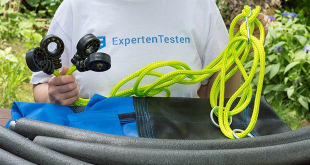 Izzy Sport Nestschaukel im Test - PE-Seile 10,5 cm