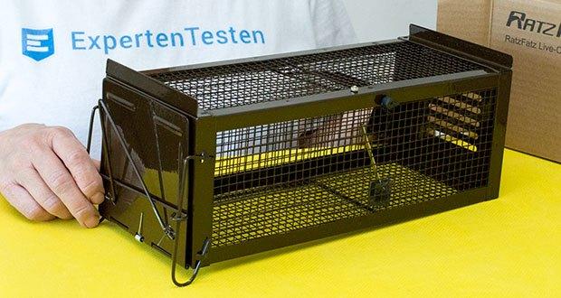 Ratzfatz Quickcatch MTBSL20 Mausefalle im Test - Größe 30x13x13 cm