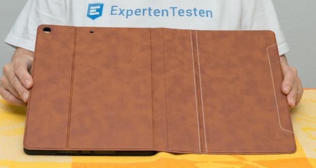 CACOE Schutzhülle für iPad 7 10.2 im Test - weiche TPU-Rückenschale schützt Ihr iPad vor Stößen