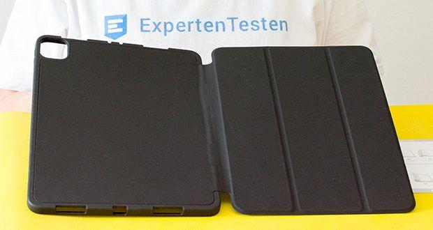 EasyAcc Schutzhülle für iPad Pro 11 im Test - die widerstandsfähige TPU Rückschale schützt Ihr iPad vor Stößen und Schmutz
