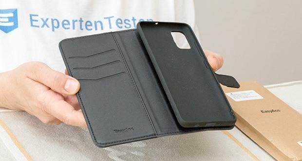 EasyAcc Hülle Case für Samsung Galaxy A51 im Test - stecken Sie häufig verwendete Karten oder auch Kleingeld einfach mit in die Tasche