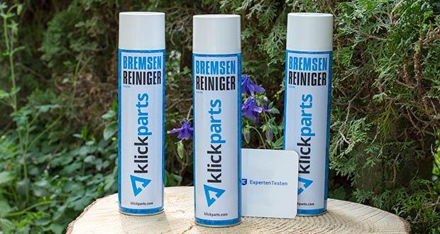 Klickparts Bremsenreiniger 500ml im Test - frei von aromatischen und chlorierten Lösungsmitteln