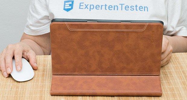CACOE Schutzhülle für iPad 7 10.2 im Test - machen Sie Ihr Handgelenk und Haltung bequemer, ohne Druck