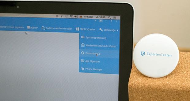 EaseUS Partition MasterPro im Test - weitere Management Tools