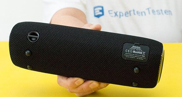 EasyAcc F10 Bluetooth Lautsprecher im Test - IPX7 Wasserdichtklasse