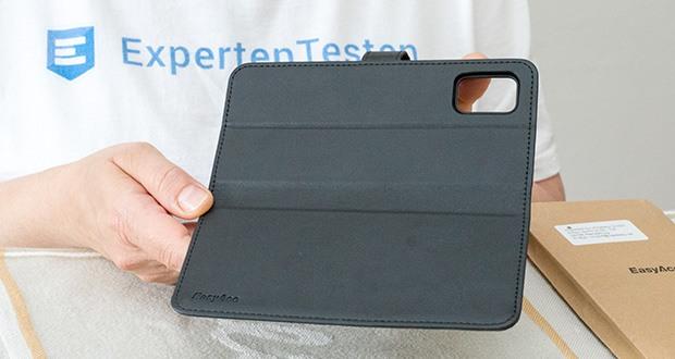 EasyAcc Hülle Case für Samsung Galaxy A51 im Test - verbessertes PU-Leder präsentiert ein High-Ending-Gefühl, und wird nicht leicht verschleißen im Laufe der Zeit