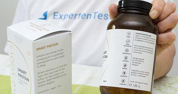 everydays Smart Protein im Test - ist frei von anderen Stoffen wie Zucker, Fetten und Kohlenhydraten