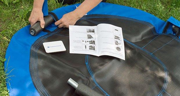 Izzy Sport Nestschaukel im Test - ausführliche Montageanleitung für den einfachen Aufbau