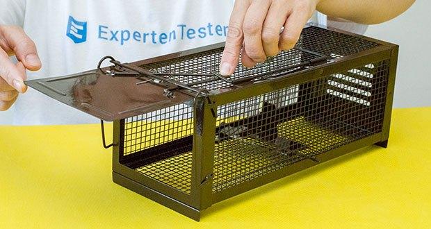 Ratzfatz Quickcatch MTBSL20 Mausefalle im Test - vollverzinkter/rostfreier Stahl, welcher ideal für die mehrfache Verwendung & Schädlingsbekämpfung geeignet