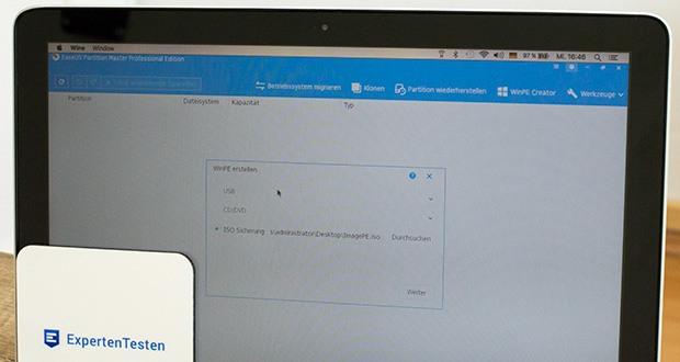 EaseUS Partition MasterPro im Test - flexible Umverteilung von Speicherplatz auf der Festplatte