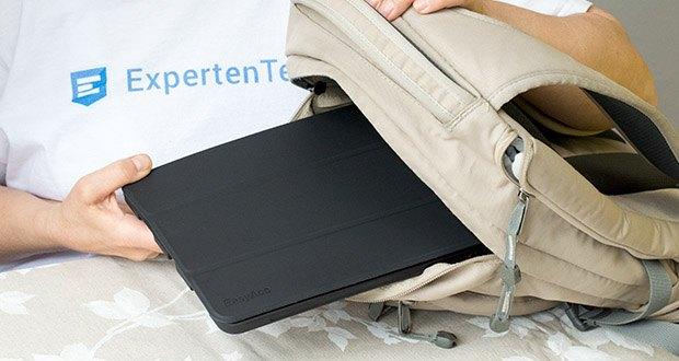 EasyAcc Schutzhülle für iPad Pro 11 im Test - pack Deinen Apple Pencil und Adapter mühelos ein, wann immer Du willst, und einfach deinen Apple Pencil mit deinem Gerät mitnehmen