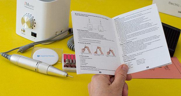 Jcmaster Premium Set Nagelfräser im Test - für die Entfernung von Nagellack jeder Art, Nagelgel, Acrylnägel, und Kunstnägel