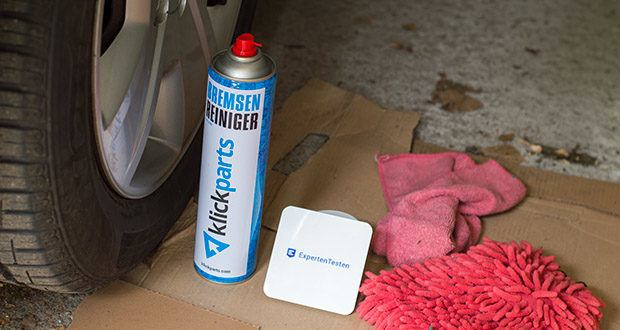 Klickparts Bremsenreiniger 500ml im Test - ideal einsetzbar für die Montage und zur Endbehandlung von Werkstücken, insbesondere auch vor der Lackierung