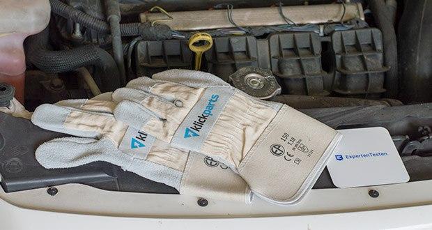 Klickparts Schutzhandschuhe Basic im Test - verbessertert Punktionsschutz, gute Abriebfestigkeit