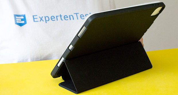 EasyAcc Schutzhülle für iPad Pro 11 im Test - fixiert ihr Gerät in einem idealen Betrachtungswinkel oder in angenehmer Position um zu schreiben