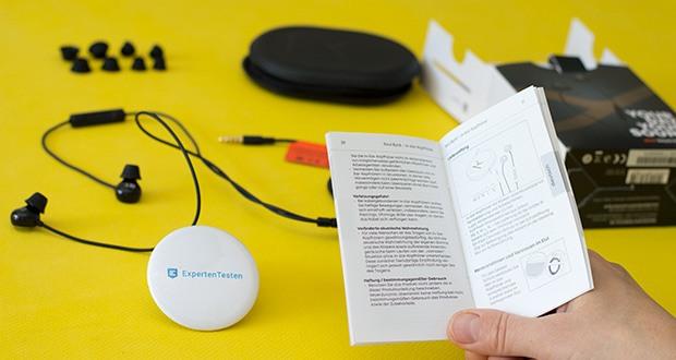 Beyerdynamic SOUL BYRD Kabelgebundener In-Ear im Test - Übertragungsbereich: 10 - 25.000 Hz
