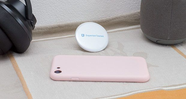 EasyAcc Hülle für iPhone 7/8/SE Hellrosa im Test - bietet Ihrem Telefon dezenten Schutz vorm Fallenlassen, Stößen und Erschütterungen