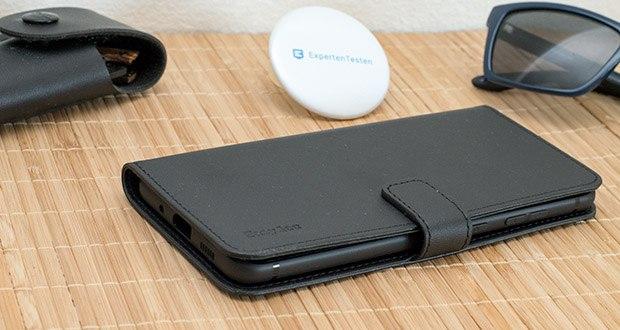 EasyAcc Hülle Case für Samsung Galaxy A51 im Test - der innere TPU-Case passt bequem zu Ihrem Handy und ermöglicht eine einfache Installation