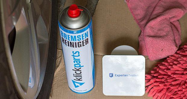 Klickparts Bremsenreiniger 500ml im Test - entfernt rückstandsfrei Öl, Fett, Wachs und andere Ablagerungen