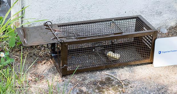 Ratzfatz Quickcatch MTBSL20 Mausefalle im Test - Wetterbeständig: Korrosionsbeständiger Stahl