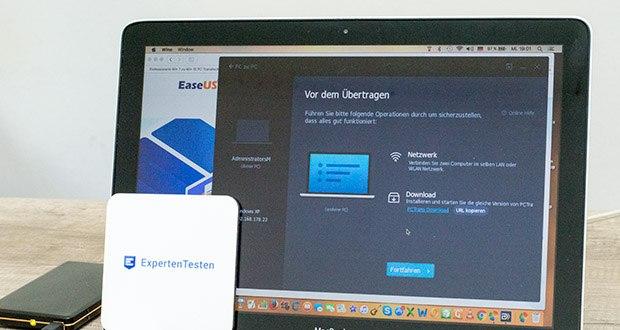 EaseUS Todo PCTrans Pro im Test - diese PC Migration Software kann Programme und große Dateien von einem Computer auf einen anderen sicher übertragen