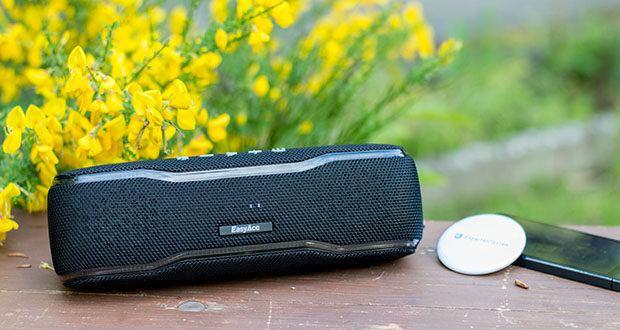 EasyAcc F10 Bluetooth Lautsprecher im Test - Festival-Atmosphäre ‒ immer und überall