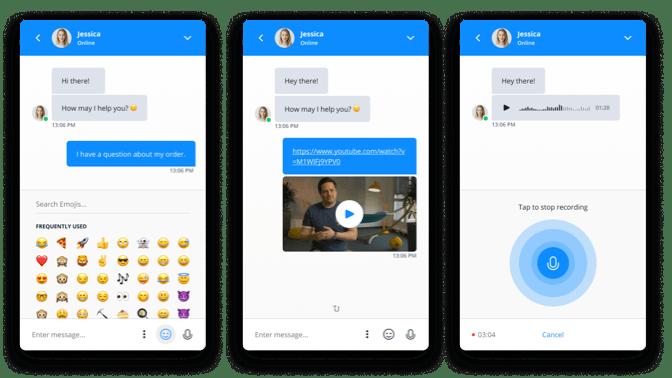 Userlike Echtzeit-Chats für Unternehmen