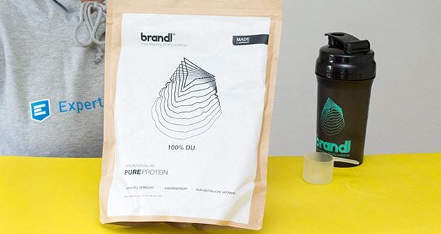 Brandl Pure Protein im Test - erhalte deinen individuellen Shake innerhalb weniger Tage