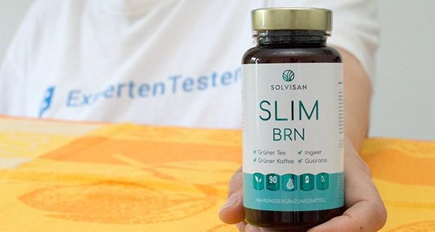 SOLVISAN Slim BRN im Test - hochdosierte und hochwertige Pflanzenextrakte: Wichtige Extrakte aus 2.640 mg Grüner Tee, 2.880 mg Grüner Kaffeebohnen, 1.500 mg Mateblatt je Tagesdosis (3 Kapseln) ergänzen die Kapseln ideal