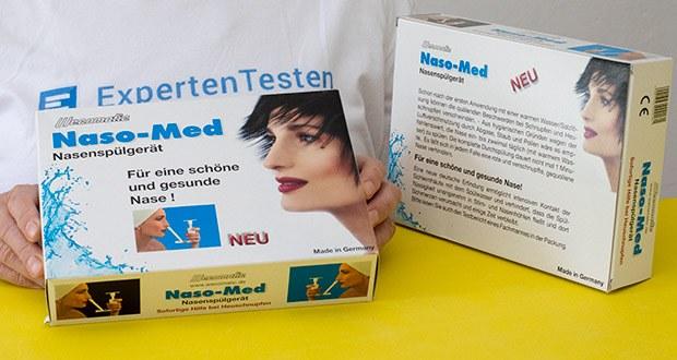 Wecomatic Naso-Med Nasendusche im Test - hergestellt in Deutschland
